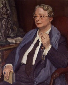 William Oliphant Hutchison's portrait of Dorothy L Sayers, whom JK Rowling considers a major influence.
